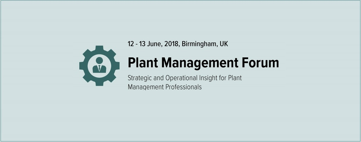 Plant Management Forum