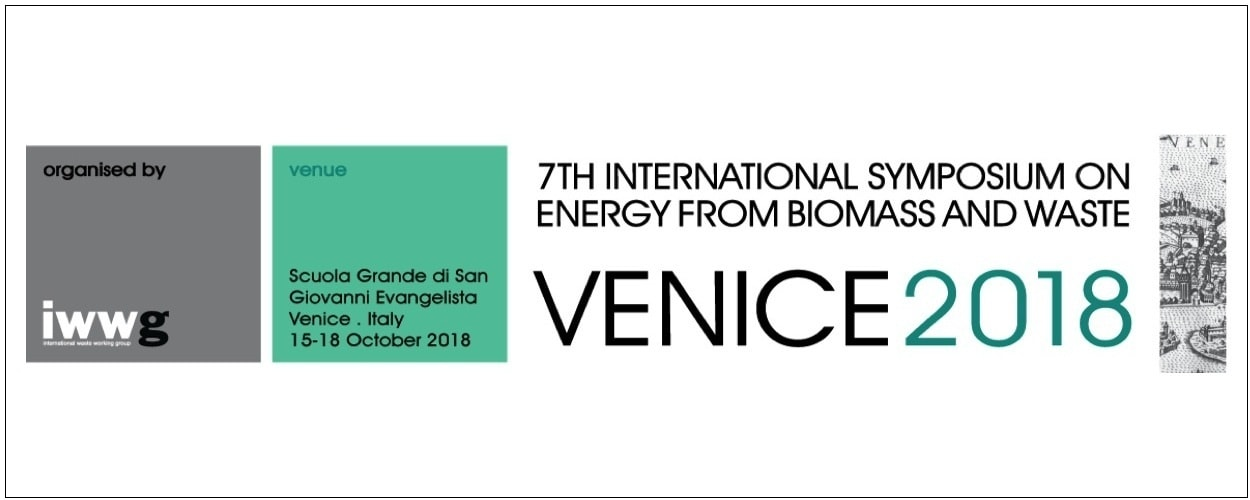 Venice 2018 – 7th International Symposium on Energy from Biomass and Waste