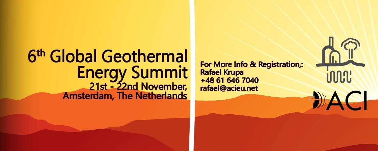 Global Geothermal Energy Summit