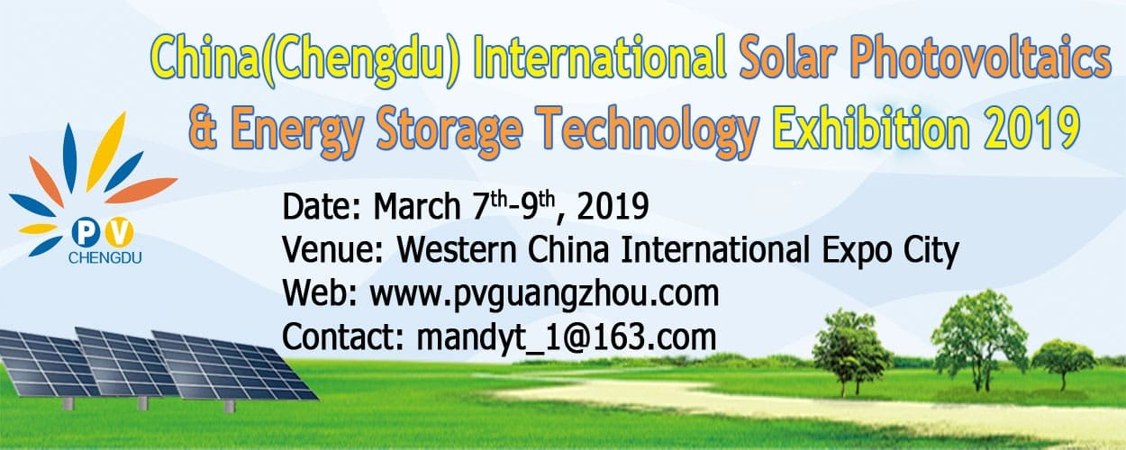 China Int'l Solar Photovoltaics & Energy Storage Technology Exhibition 2019