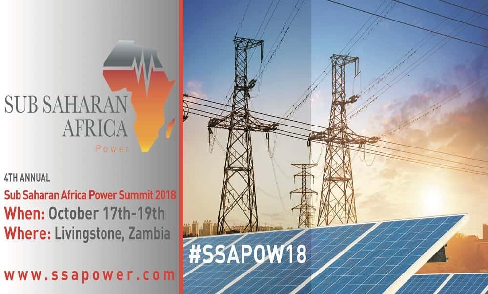 Sub Saharan Africa Power Summit 2018
