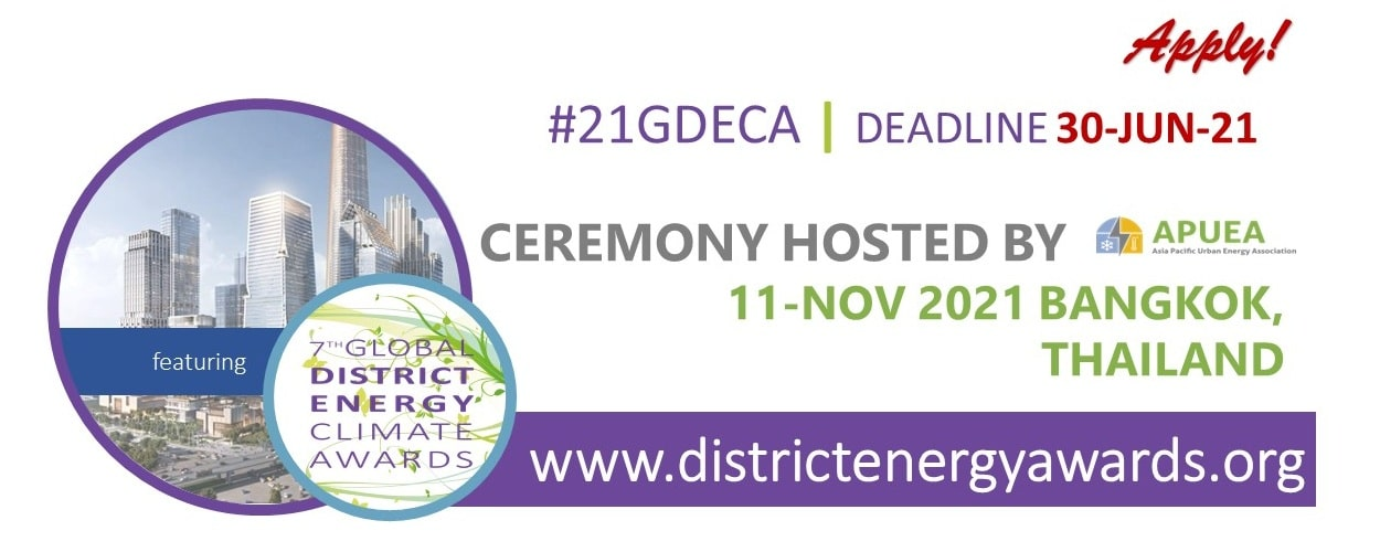 2021 Global District Energy Climate Awards